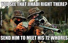 Islamic extremist's, beware