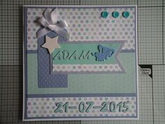 made using the new tiny tatty teddy paper pack. Lovely DP to work with! Love that shade of blue and purple together.