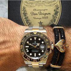 "Stingray bracelet X Rolex by @bebajrang  Shop at - www.bebajrang.com  Use Code ""FASHION15"" & get 15% OFF on items that are not on sale  Worldwide Shipping #BeBajrang"