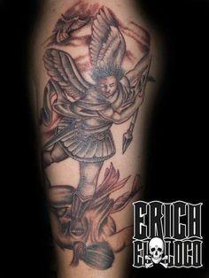 Tattoo Engel Angel