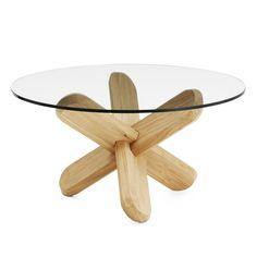 Ding+bord+glass/eik,+Normann+Copenhagen