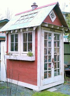 Darling Garden Shed and Greenhouse