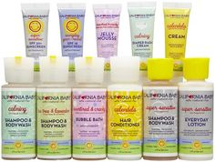 California Baby Traveler Mixed Scent Gift Set - a travel caddy filled with must-have products for baby.