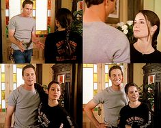Charmed - Piper and Leo Serie Charmed, Charmed Tv Show, Fantasy Series, Sci Fi Fantasy, Piper Charmed, Charmed Sisters, Phoebe And Cole, Male Witch, Holly Marie Combs