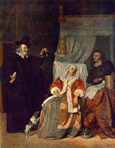 The Patient and the Doctor - Gabriel Metsu