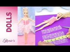 How to make dresses from Rapunzel's Fashion Show Part 2 - Super Easy! No Sew! No Glue! - YouTube