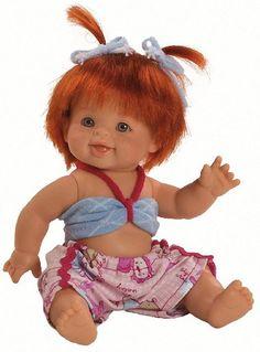 Puppen & Zubehör Spiel Puppe Trink Baby Näß Baby Fedor Ca 21 Cm Von Paola Reina Art Nr 3587 For Sale