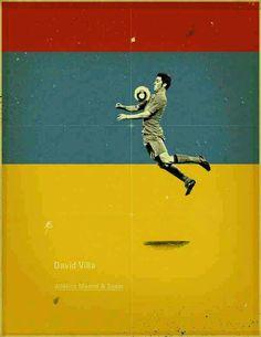 David Villa of Spain wallpaper.