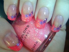 Love the pink with purple stars!!
