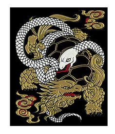 Makie Seal - guardian beast Emaki Xuanwu -- To view further for this item, visit…