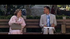 """Life is like a box of chocolates. You never know what you're gonna get."""