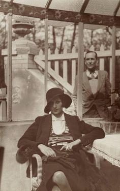 © Jacques-Henri Lartigue, 1930-32, Renée Perle in Paris