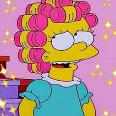 Lisa Simpson - The Simpsons - Cartoon Profile Pictures Instagram, Cartoon Profile Pics, Cartoon Profile Pictures, Cute Profile Pics, Cartoon Icons, Cartoon Memes, Cute Cartoon, Lisa Simpson, Simpson Wallpaper Iphone