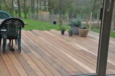 houten terras + tips aanleg