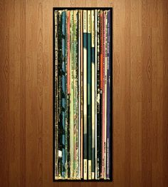 Big Jazz Album Wall Art | No room for your vinyl collection? This wall art, featuring a ... | Decor
