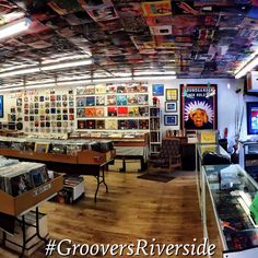 http://www.groovers.us/ This is the best store in Riverside, CA to buy vinyl records, LP's, collector sets. They also have collectibles, a few CDs, a few cassettes, some old VHS tapes, books about rock stars and lots of good stuff. The staff is awesome! If you pay cash, you get a discount. GO THERE!!!