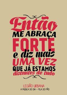 ♥♥ღPatrícia Sallum-Brasil-BH♥♥ღ Legião Urbana Music Lyrics, Music Quotes, Words Quotes, Music Is Life, My Music, Rebel, Text Pictures, Me Me Me Song, Texts