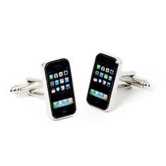 Manschettenknöpfe Handy, 14€, jetzt auf Fab.