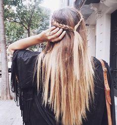 blonde braids @HopeAndSmileNow