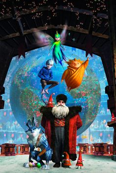 The Art Of Animation, Dreamworks - Rise of the Guardians