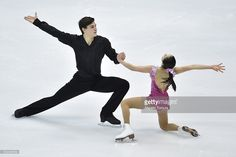 Sumire Suto and Francis Boudereau-Auded of Japan compete in the Pair short program during the day one of the 2015 Japan Figure Skating Championships at the Makomanai Ice Arena on December 2015 in Sapporo, Japan. Ice Skating, Figure Skating, Sapporo, Skate, Pairs, Japan, Running, Concert, Day