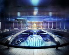 Underwater hotel in Dubai, unbelievable!