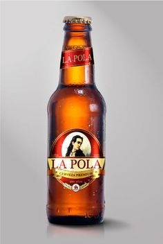 Cerveza La Pola by Angelo Beltrán, via Behance