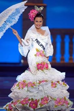 modern maria clara dress philippines - Google Search