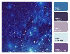 Paint colors from ColorSnap by Sherwin-Williams Color Schemes Colour Palettes, Colour Pallette, Color Combos, Paint Colors For Home, House Colors, Galaxy Colors, Forest Color, A Silent Voice, Colour Board
