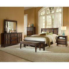 Progressive Furniture Kingston Isle Panel Customizable Bedroom Set & Reviews   Wayfair