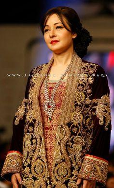 Zeba Bakhtiar in Deepak Perwani......gorgeous as ever                                                                                                                                                      More