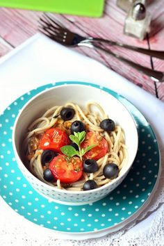 Japchae, Spaghetti, Paleo, Ethnic Recipes, Food, Essen, Beach Wrap, Meals, Yemek