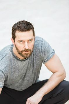 John Procter on his knees. Richard Armitage. The Crucible.  Great actor with huge stage presence !