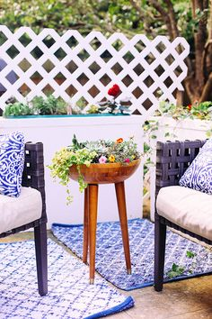 DIY Tripod Planter | In Honor Of Design