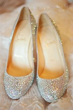 Glitter and flats... My kind of shoe