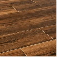 Replace laminate with tile that looks like our wood floors. *Yes Please!  Love it!