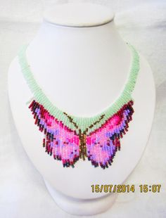 This Pin was discovered by Seh Bead Jewellery, Beaded Jewelry, Jewelery, Bead Embroidery Jewelry, Beaded Embroidery, Seed Bead Earrings, Beaded Earrings, Bead Loom Patterns, Fringe Necklace