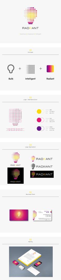 Radiiant - Logo / Identity Design -Proposal 3