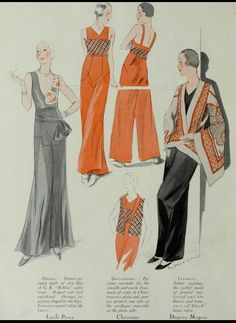 Trousers Art-Goût-Beauté May, 1931