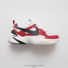0cf621650 Super Bespoke Ben UNISEX Offwhite x Nike Air Monarch the M2K Tekno Vintage  Trend All-match Travel Dad Sneaker OW Suede Chicago