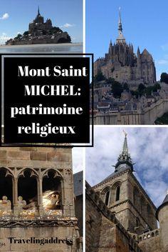 Patrimoine religieux français: le Mont Saint Michel. Baie classée au patrimone mondial de l'UNESCO