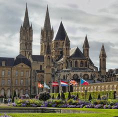 Abbey in Caen, France
