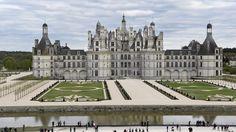 Chambord Castle, Chateaux de la Loire, Loire Valley, France