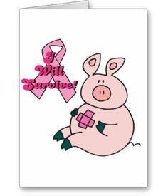 Pig Greeting Cards
