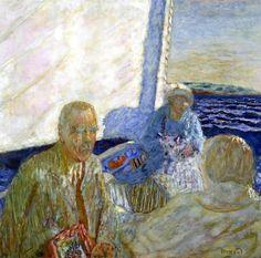 At Sea (1924) Pierre Bonnard