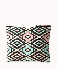 Southwestern Cosmetic Pouch | FOREVER21 - 1059543904
