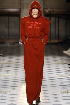 Vetements Fall 2016 Ready-to-Wear Fashion Show  This quote is giving me life......