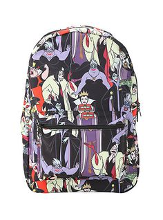 Disney Villains Backpack | Hot Topic