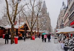 Luxembourg Christmas Market, Luxembourg. (c) 2012 Nathan DePetris