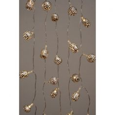 H&H... Silver Maroq LED Fairy String Lights Battery Operated - H&H... from Hurn & Hurn UK